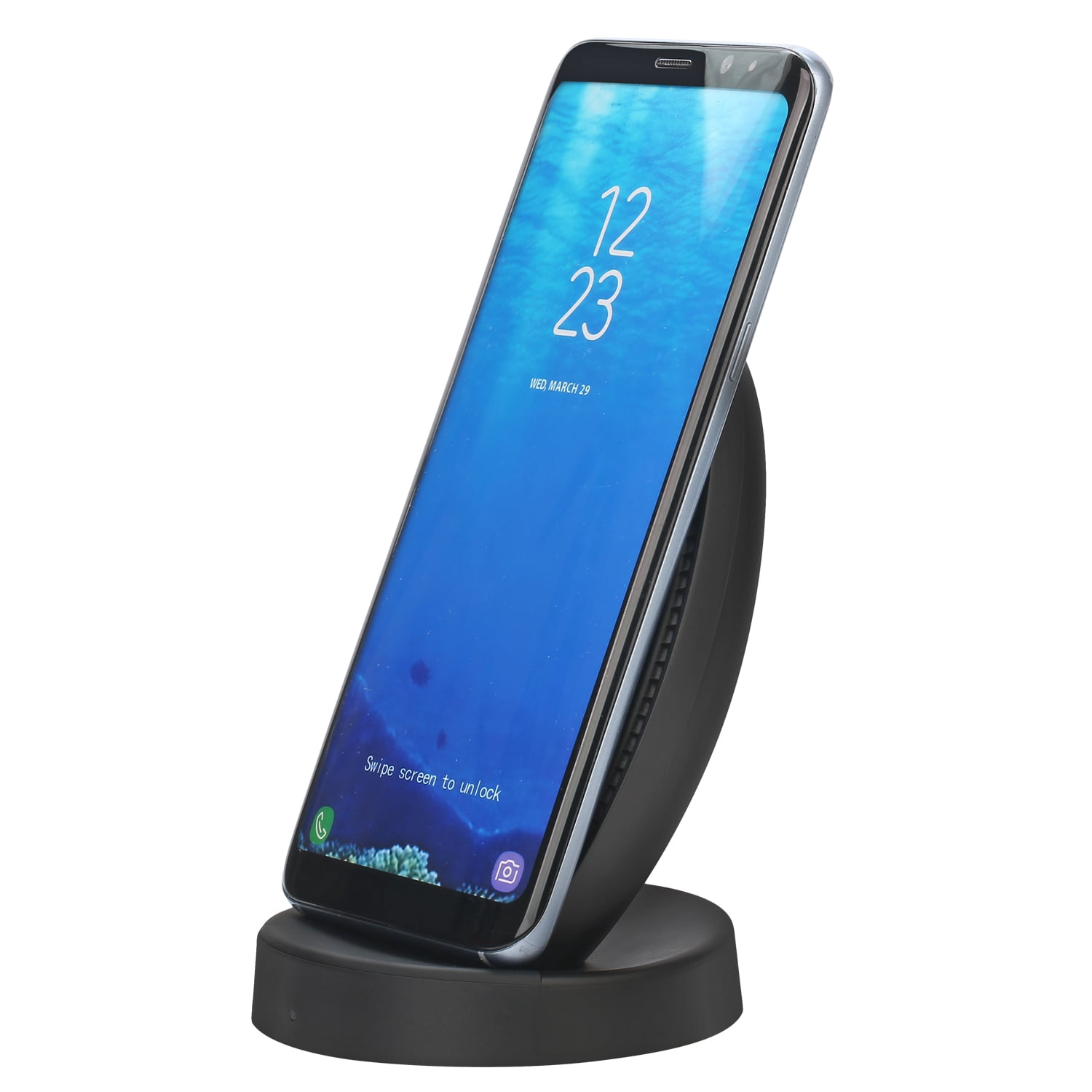 New cooling fan wireless charger for samsung note 8
