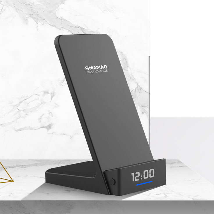 S210 Fast Wireless Chargers with Clock