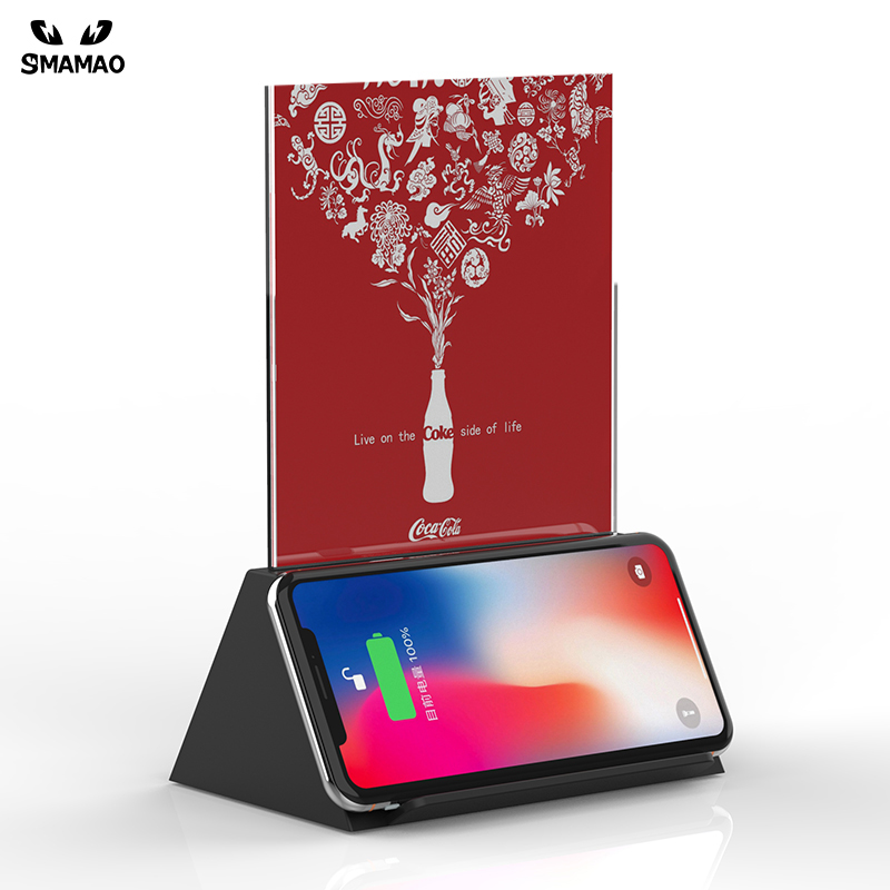 4in1 wireless charging Station with 2 USB output S250