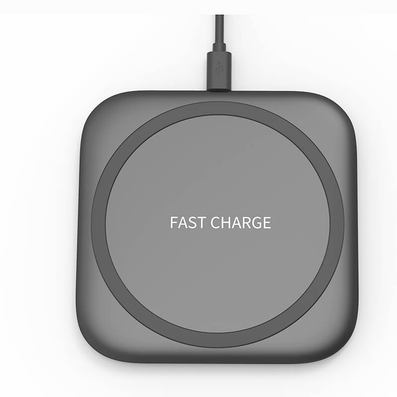 Slim design 10w fast wireless charging pad for iphone samsung F100