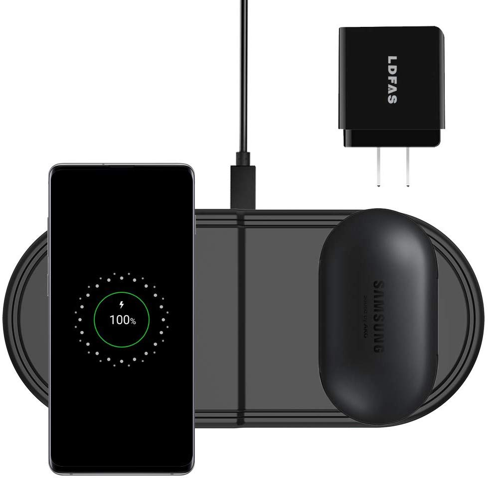 Fast Dual Wireless charging pad F650