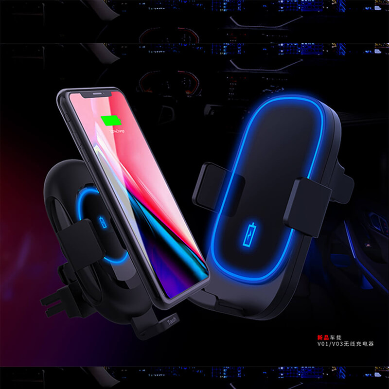 15W Car Use Fast Wireless Charger V03