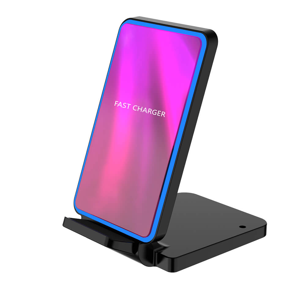 Fast  wireless charging stand for internet cafe samsung galaxy S20 iphone 11 prowireless charger Q790