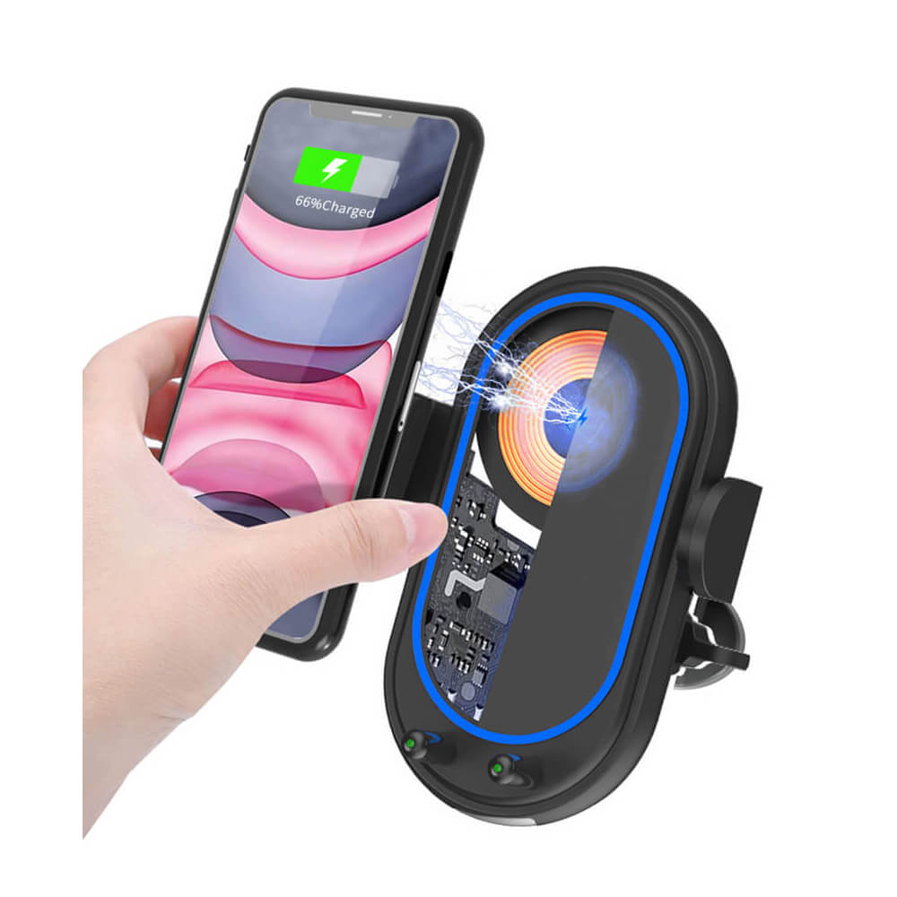 SMAMAO™ V02 Wireless Car Charging Phone Holder Supplier
