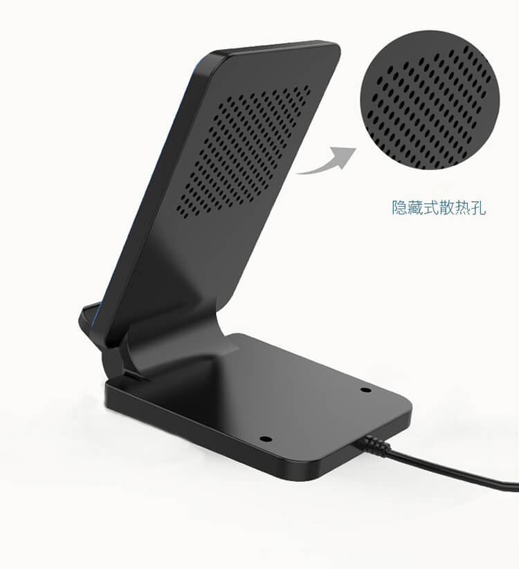 Fast  wireless charging stand for internet cafe samsung galaxy S20 iphone 11 prowireless charger