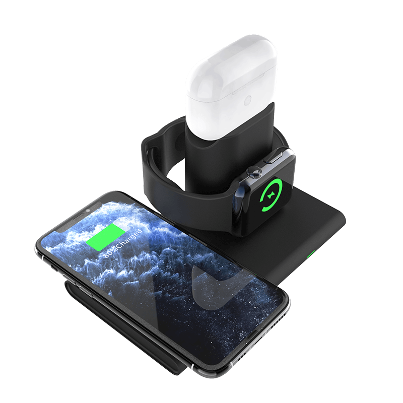 SMAMAO™ 15w Fast 3in1 Charging Station For apple  Q80