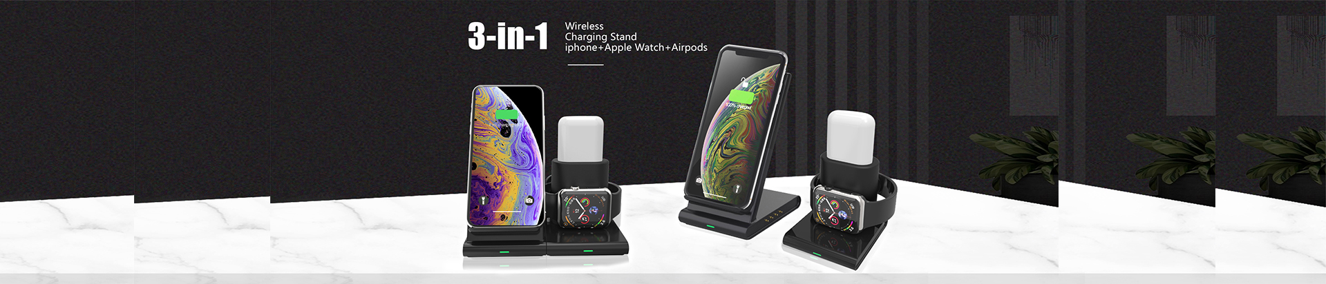 S210 wireless charger with clock (2)